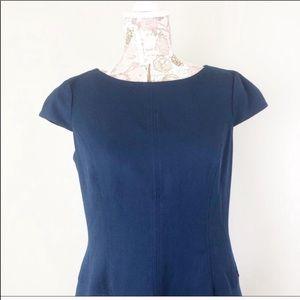 Anne Klein Dresses - Ann Klein | 6 | Blue Cap Sleeve Dress